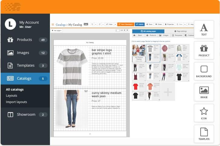 بهترین نرم افزار طراحی کاتالوگ catalog machine